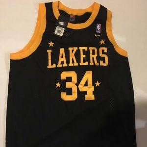 Brand New Los angeles Lakers X Nike Collab Shaq